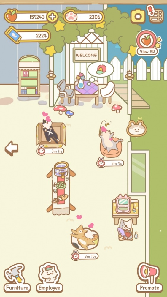 Cat Spa Android Game Image 2