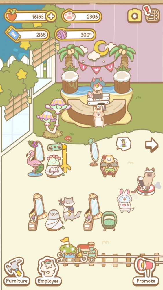 Cat Spa Android Game Image 3