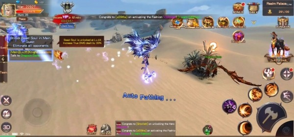 Goddess Of War: Origin Classic MMORPG Android Game Image 3