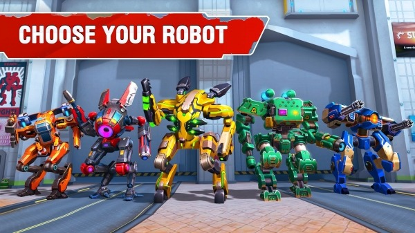 Star Robots. Mech War Android Game Image 1
