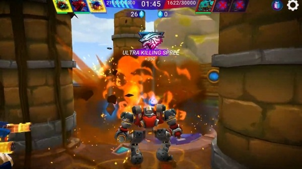 Star Robots. Mech War Android Game Image 4