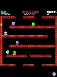Bubble Bobble Java Game Image 2