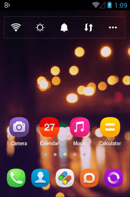 BOOM Go Launcher Android Theme Image 1
