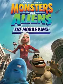 Monsters Vs Aliens: The Mobile Game Java Game Image 1