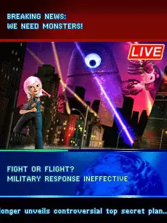 Monsters Vs Aliens: The Mobile Game Java Game Image 2