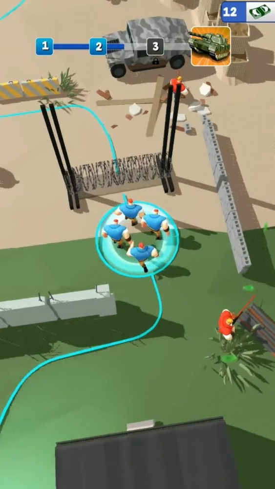 Casual Commando Android Game Image 3