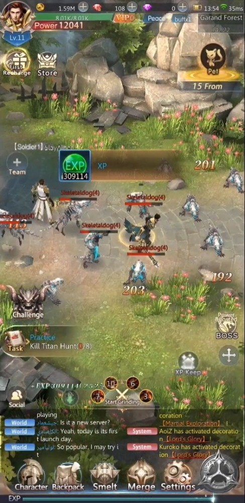 Pasha Fencer Android Game Image 2