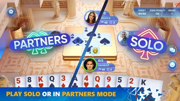 Spades Masters Android Game Image 2