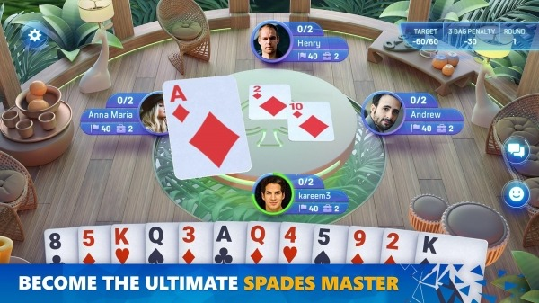 Spades Masters Android Game Image 3