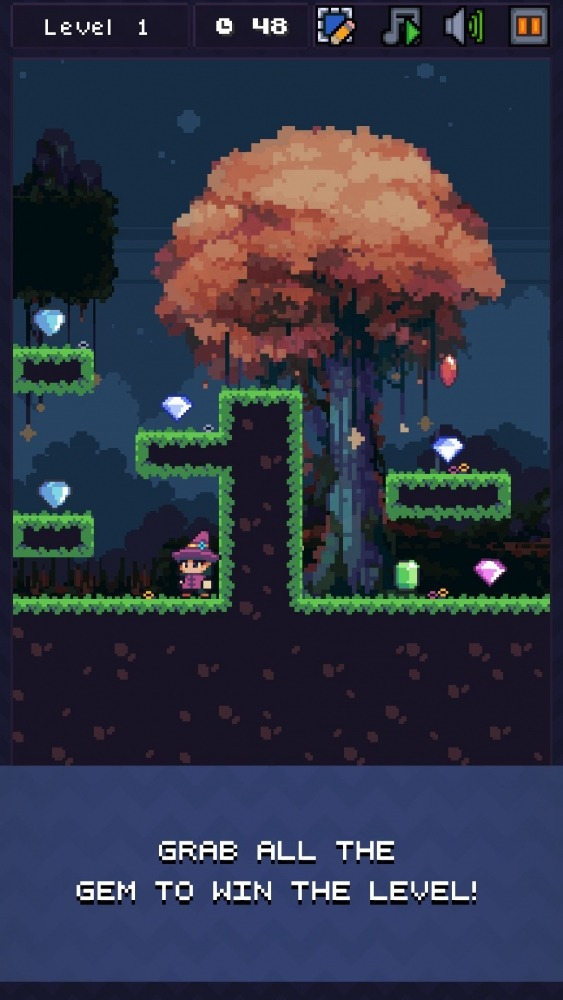 Weeny Adventure - Retro Platformer Android Game Image 2