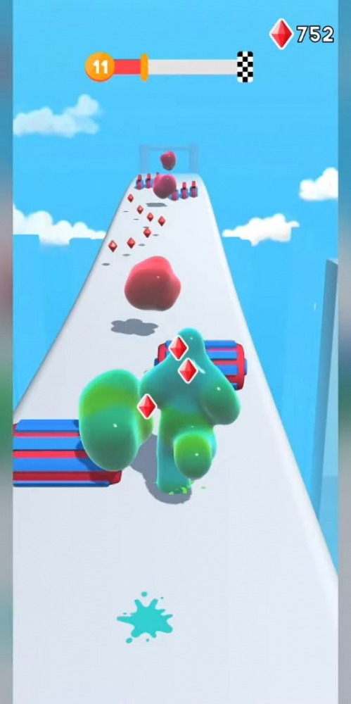 Blob Runner 3D Android Game Image 1