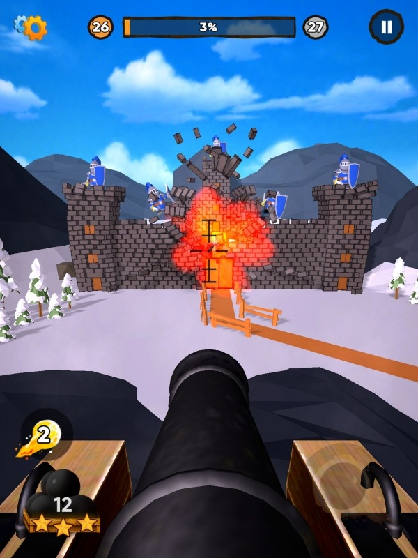Cannon It! Android Game Image 2