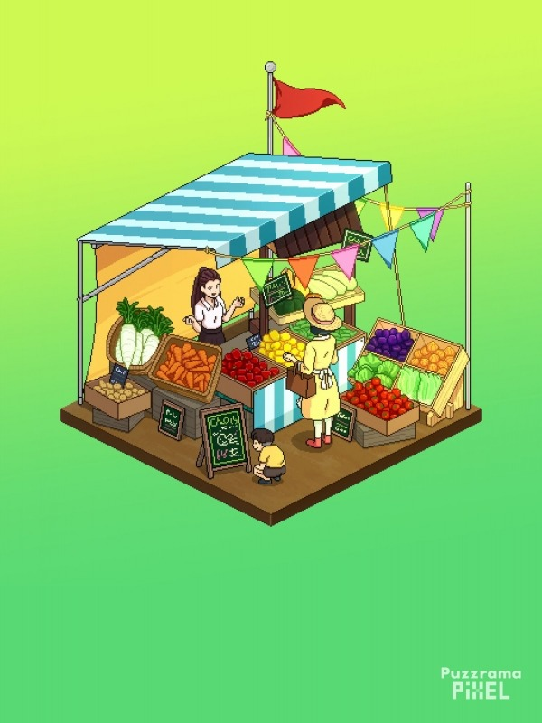 Puzzrama Pixel Android Game Image 1