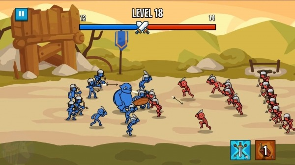 Stick Wars 2: Battle Of Legions Android Game Image 2