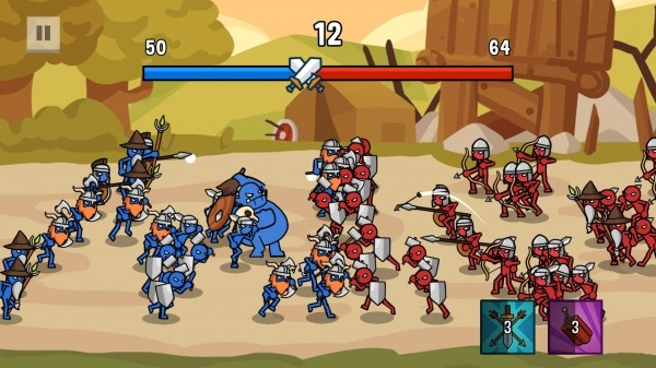 Stick Wars 2: Battle Of Legions Android Game Image 4