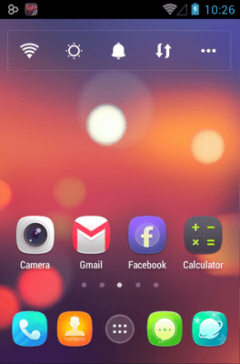 Ample Go Launcher Android Theme Image 1