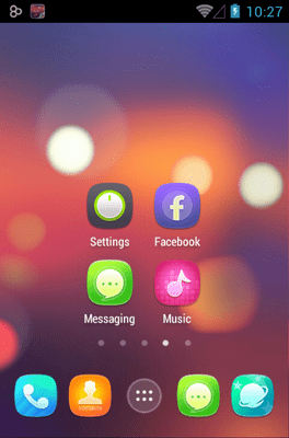 Ample Go Launcher Android Theme Image 2