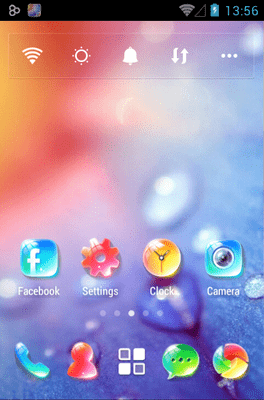 Crystal Go Launcher Android Theme Image 1