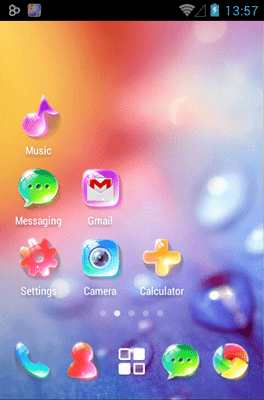 Crystal Go Launcher Android Theme Image 3