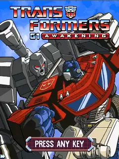 Transformers G1: Awakening Java Game Image 1