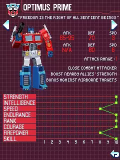 Transformers G1: Awakening Java Game Image 4