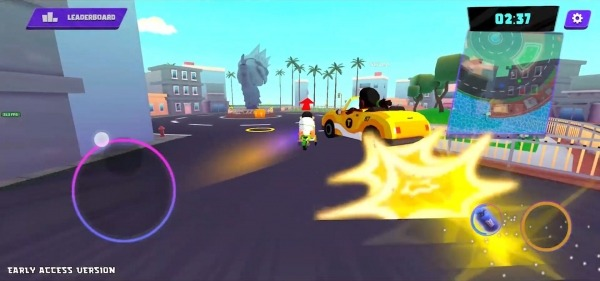 Crazy Delivery Rumble - Taxi Brawl Android Game Image 2