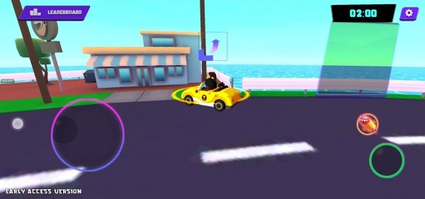Crazy Delivery Rumble - Taxi Brawl Android Game Image 4