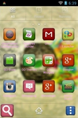 Brain Go Launcher Android Theme Image 2