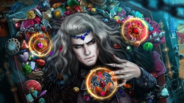 Hidden Objects - Dark Romance: Vampire Origins Android Game Image 1