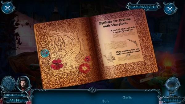 Hidden Objects - Dark Romance: Vampire Origins Android Game Image 2