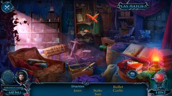 Hidden Objects - Dark Romance: Vampire Origins Android Game Image 4