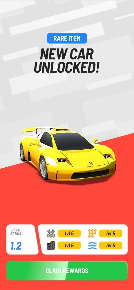Idle Drag Racers Android Game Image 1