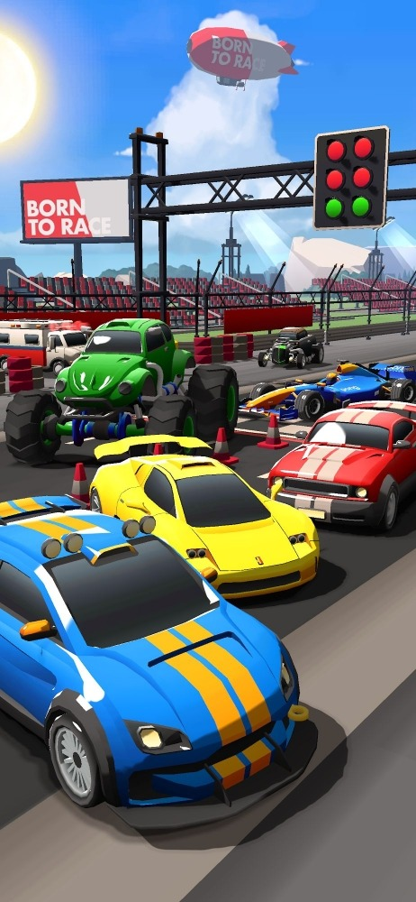 Idle Drag Racers Android Game Image 2