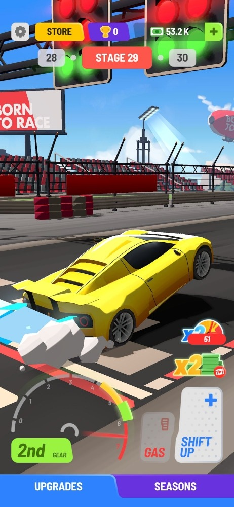 Idle Drag Racers Android Game Image 3