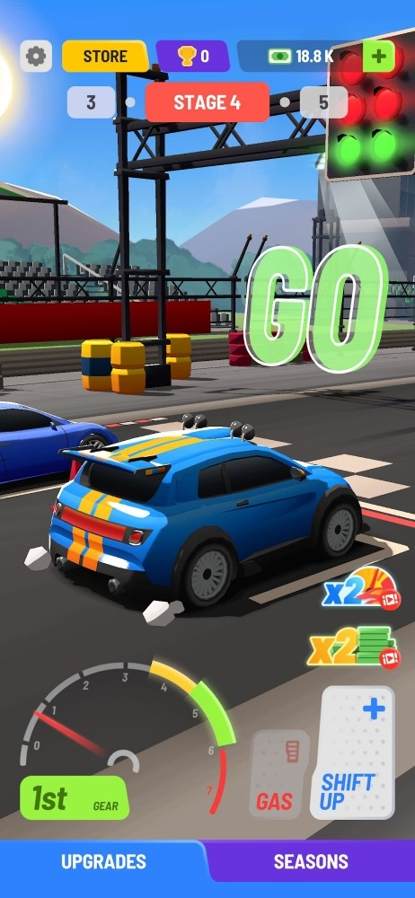 Idle Drag Racers Android Game Image 4