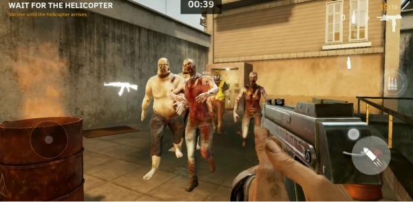 Road To Dead - Zombie Games FPS Shooter Android Game Image 2