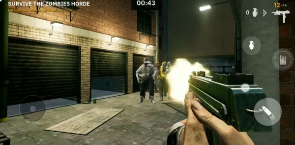 Road To Dead - Zombie Games FPS Shooter Android Game Image 3