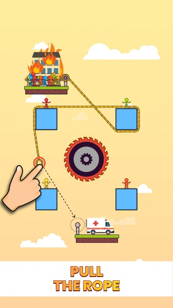 Rope Puzzle Android Game Image 2