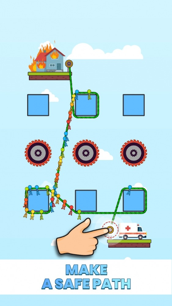Rope Puzzle Android Game Image 3
