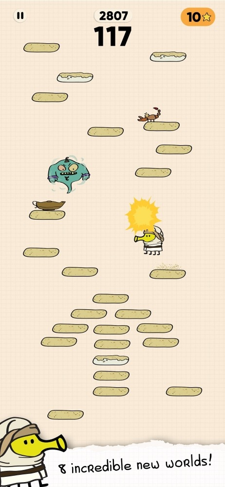 Doodle Jump 2 Android Game Image 1