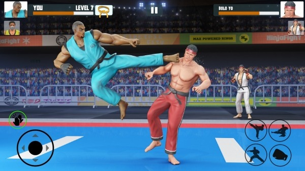 Karate Fighting Games: Kung Fu King Final Fight Android Game Image 2