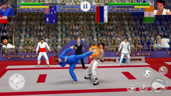 Karate Fighting Games: Kung Fu King Final Fight Android Game Image 3
