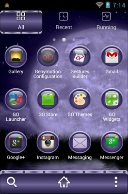 Fairy Sisters Go Launcher Android Theme Image 2