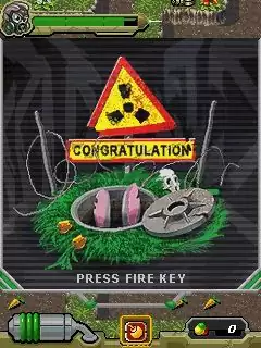 Nuclear Rabbit Java Game Image 2