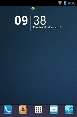 UR Go Launcher Android Theme Image 1