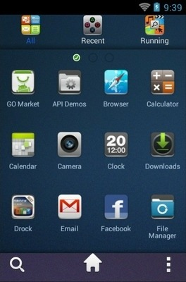 UR Go Launcher Android Theme Image 2