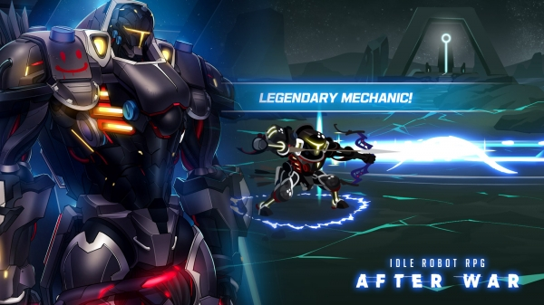 After War – Idle Robot RPG Android Game Image 2