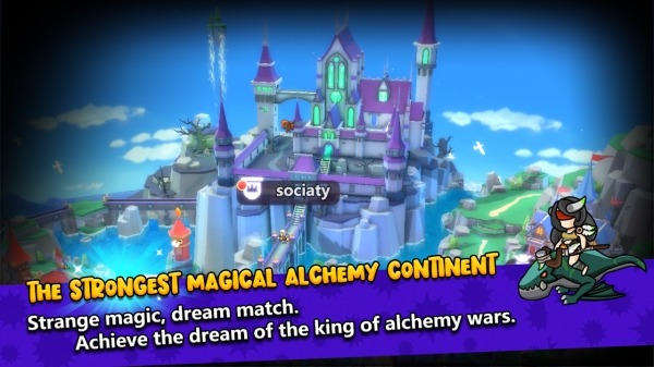 Alchemy War2: The Rising Android Game Image 1