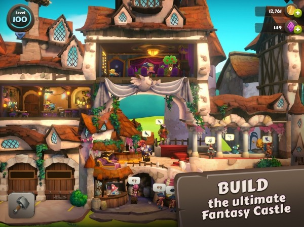 Giblins: Fantasy Builder Android Game Image 4