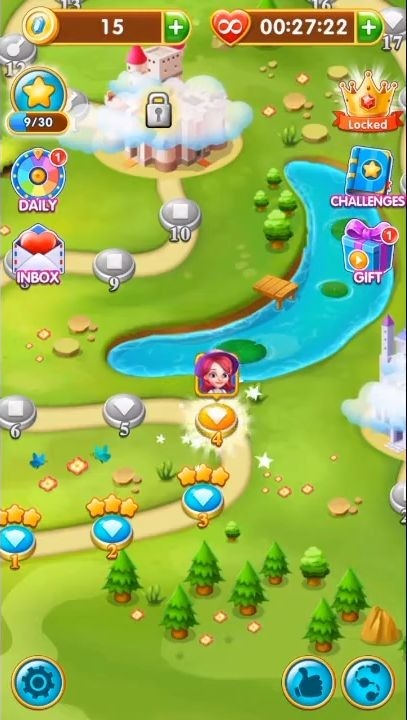 Jewels Legend - Match 3 Puzzle Android Game Image 2